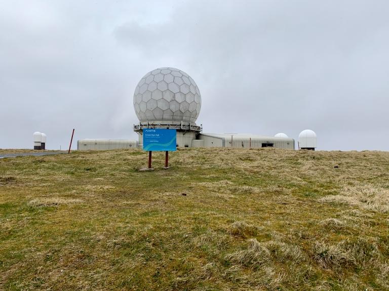 Great Dun Fell radar station