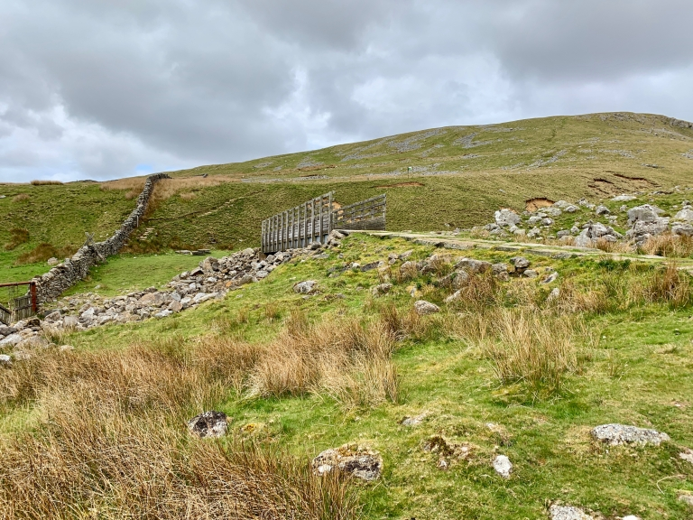 Start of walk to Great Dun Fell
