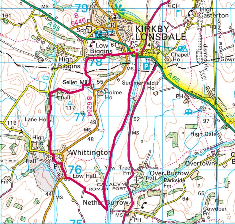 whittington map