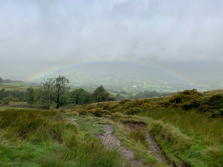 Lovely view looking back to Edale