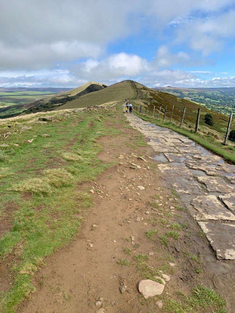 Path towards Hollins Cross